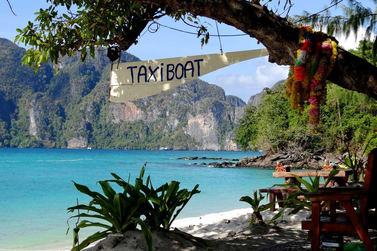 Taxiboothaltestelle